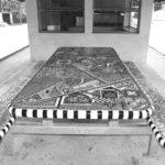Mosaic Table at Bar
